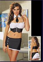 DG-4259 Office Tramp Sexy Pinstripe Sexy Costume