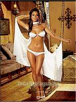 DG-3918 Dance Cape and Cystal Beaded Thong Set
