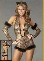 DI-Shimmer Leopard Sexy Custom Womens Costume