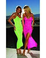 EM-8128 Bold and Bright Slip Dress